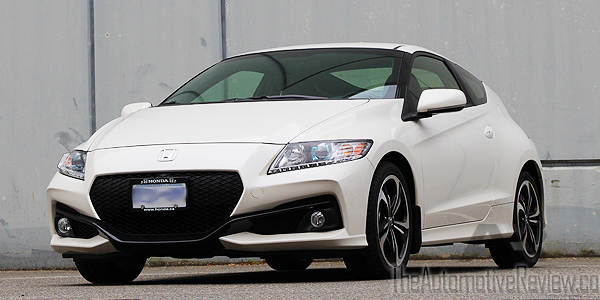 2016 Honda CR-Z White Exterior Front Side Low