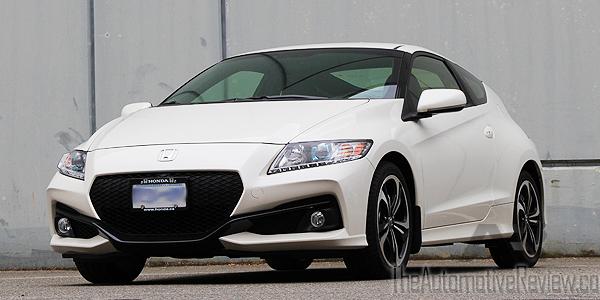 2016 Honda CR-Z White Exterior Front Side Low