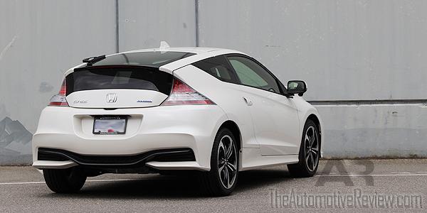 2016 Honda CR-Z White Exterior Rear Side