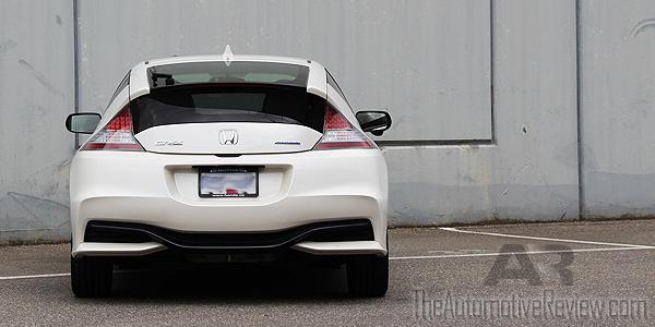 2016 Honda CR-Z White Exterior Rear