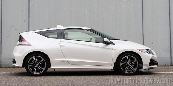 2016 Honda CR-Z White Exterior Side