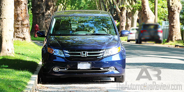 2016 Honda Odyssey Exterior Blue Front