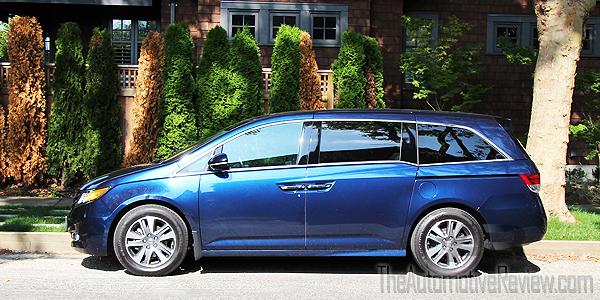 2016 Honda Odyssey Exterior Blue Side