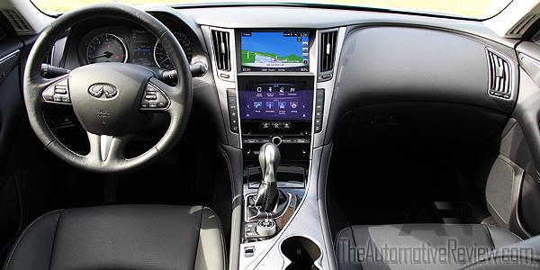 2016 Infiniti Q50 Interior Black Dash