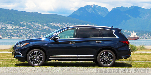 2016 Infiniti QX60 Exterior Blue Side