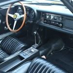 """The engine is original, like the rare paint color, the black leather interior, and just about everything else on the car. Last year, this Ferrari was treated to a full service and new Michelin tires and Borrani wire wheels. It sold on the low end of its pre-sale estimate of $ 3.2 to $ 3.6 million, and while that's still a lot of dough, the chance to get a piece of the finest artisan bruschetta ever baked doesn't come along every day. We encourage the new owner to follow through on Gooding's observation that """"the minimally used berlinetta is . . . well-suited for vintage tours like the Copperstate 1000."""" —Rusty Blackwell and Andrew Wendler"""