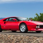 Built to compete in the FIA's Group B Rally series, the 288GTO served as a mechanical bridge of sorts between old and new Ferrari. Sporting a pair of IHI turbochargers, BEHR intercoolers, and a Weber-Marelli fuel-injection system, the 400-hp aluminum V-8 made the most of then state-of-the-art technologies. Designed by Pininfarina, the body was loosely inspired by the 308's; for the first time ever in a Ferrari road car, the 288's body and chassis employed advanced composites in its construction resulting in a claimed curb weight of 2550 pounds. The manufacturer claimed a zero-to-60-mph time of less than five seconds and a top speed of 180 mph. (We clocked one at 5.0 seconds to 60 mph in our September 1985 issue.)