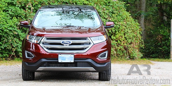 2016 Ford Edge Titanium Bronze Fire Exterior Front