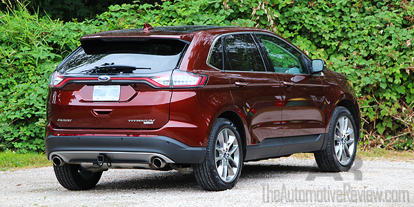 2016 Ford Edge Titanium Bronze Fire Exterior Rear Side