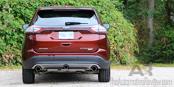 2016 Ford Edge Titanium Bronze Fire Exterior Rear