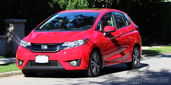 2016 Honda Fit Red Exterior Front Side Close