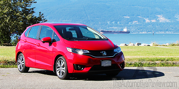 2016 Honda Fit Red Exterior Front Side