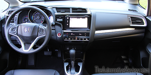 2016 Honda Fit Red Interior Front Dash