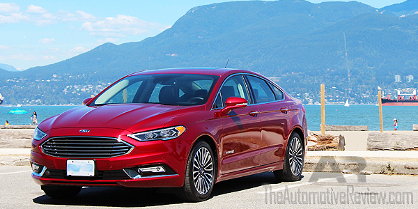 2017 Ford Fusion Se Vs Hybrid Comparison Review
