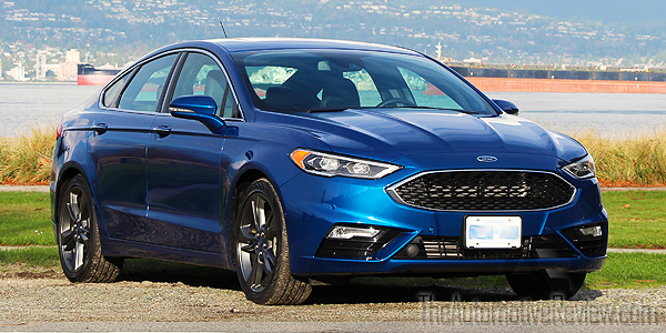 2017-ford-fusion-sport-v6-blue-exterior-front-side