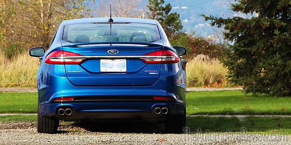 2017-ford-fusion-sport-v6-blue-exterior-rear