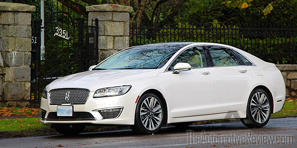 2017 Lincoln Mkz White Exterior Front Side