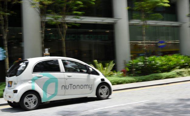 nuTonomy autonomous car
