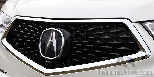 Acura MDX Review The Automotive Review - Acura emblem black