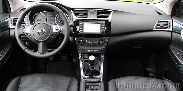 2017 nissan sentra sr turbo review the automotive review. Black Bedroom Furniture Sets. Home Design Ideas