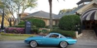 In the early 1960s when many manufacturers were switching to a unitary chassis, the fiberglass-bodied Corvette was a popular subject for Europe's coachbuilders. At the 1963 Paris Auto Show, Pininfarina […]