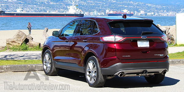 2017 ford edge titanium review the automotive review. Black Bedroom Furniture Sets. Home Design Ideas