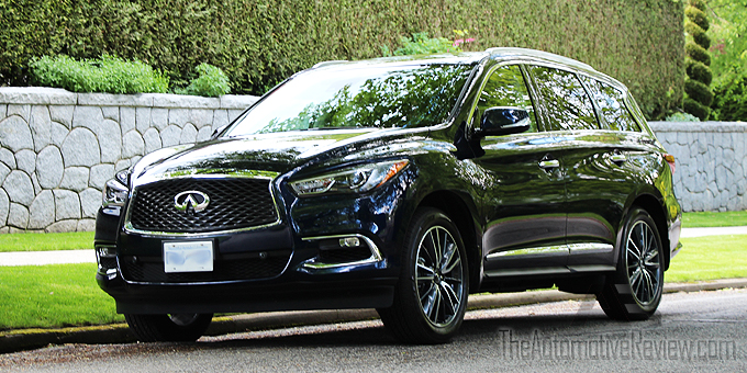 The Main Upgrades To 2017 Infiniti Qx60 Are A More Ful Engine And An Upgraded Infotainment System