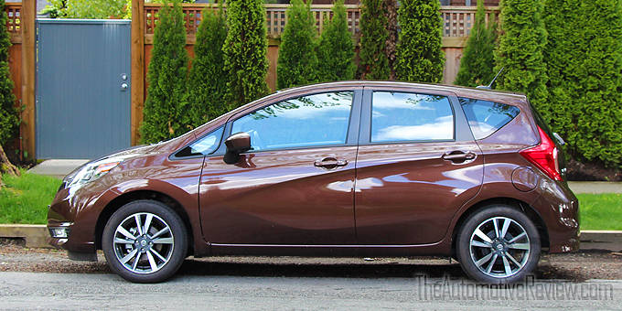2017 nissan versa note review the automotive review. Black Bedroom Furniture Sets. Home Design Ideas