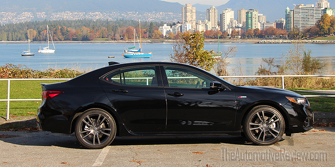 2018 Acura TLX A-Spec Review   The Automotive Review