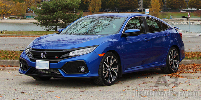 2017 honda civic si review the automotive review. Black Bedroom Furniture Sets. Home Design Ideas